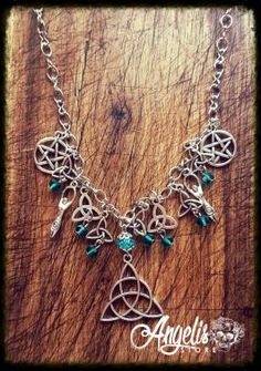 Infinity and Fertility Goddess Necklace Necklaces, Bracelets, Fertility, Infinity, Charmed, Stuff To Buy, Jewelry, Fashion, Moda
