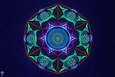 Symbiosis Next gen string art & UV painting by KevEtsy on Etsy