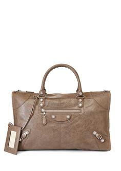 BALENCIAGA Gray Giant 12 Work Bag