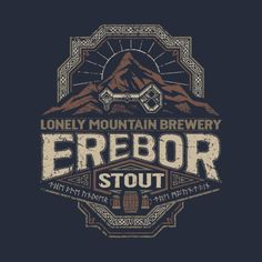 The Brews of Middle Earth: Lonely Mountain Brewery Erebor Stout - Cory Freeman