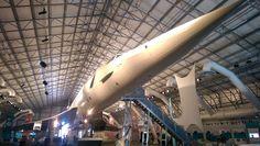 A ten Concorde tam fakt byl! Sice už nelétá, ale mají ho tam! Je moc pěknej, seděl jsem na sedačce královny Alžběty!!!