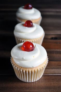 Cherry Bakewell Cupcake Recipe! - Cake Decorating Tutorials, Cake Decorating Supplies, Baking Supplies, Extracts, Ess...