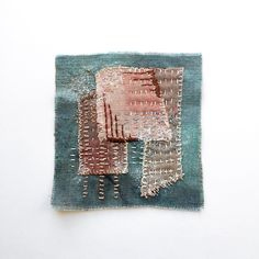 Excited to share this item from my shop: Japanes boro Sashiko Slow stitch Patch of Natural linen Mending patch Plant dyed Recycled Upcycled Boro patchwork Embroidery slow stitch Sashiko Embroidery, Japanese Embroidery, Hand Embroidery Patterns, Embroidery Art, Embroidery Stitches, Embroidery Scissors, Embroidery Supplies, Boro Stitching, Stitch Patch