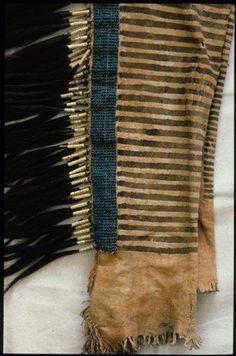 Booth museum. Blackfoot beaded leggings