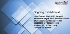 Rudralife Ongoing Exhibition at at #Bhubaneshwar  Date : 3rd December to 7th December.2015 Time : 10.am to 8.00pm
