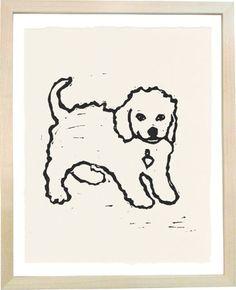 Hugo Guinness dog prints = love