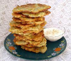 W Mojej Kuchni Lubię.. : chrupiące placki cukiniowo-ziemniaczane z cebulą i...