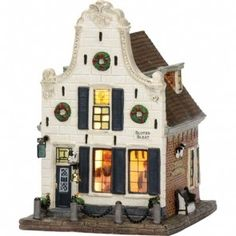 Lemax Christmas Village, Christmas Villages, Villas, Dept 56 Dickens Village, Fries, Seaside Village, Christmas Mood, Holiday Activities, Winter Cards