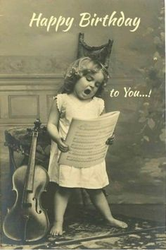Happy birthday to you! - Happy Birthday Funny - Funny Birthday meme - - Happy birthday to you! The post Happy birthday to you! appeared first on Gag Dad. Images Vintage, Vintage Pictures, Vintage Photographs, Old Pictures, Old Photos, Children Pictures, Music Pictures, Birthday Images, Birthday Ideas