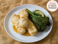 IQS 8-Week Program - Coconut Chicken Nuggets with Pumpkin Mash; This looks like it would appeal to the little palettes in the house-hold.