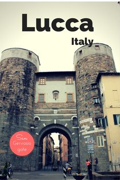 Lucca, a lovely quiet city in northern Tuscany