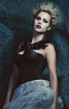 Love this glamorous Rebekah promo photo.