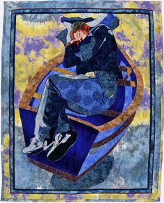 Casting Off: Adrift, Art Textile