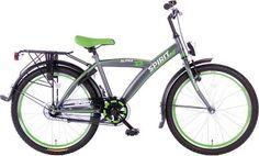 jongensfiets 22 inch Spirit Alpha groen  €189 Bikedepot