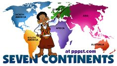 The Continents - Free Presentations in PowerPoint format, Free Interactive Activities and Games for Kids/ PERFECT SOURCE OF IDEAS IN ORDER TO ARRANGE AROUND THE WORLD PARTY THEME ACTIVITIES!