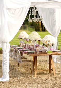 Table Settings, Wedding Reception