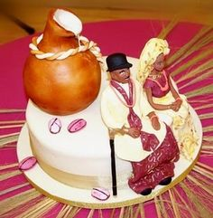 nigerian traditional engagement cakes