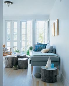 MORE DIYable Tree Stump Furniture » Curbly | DIY Design Community