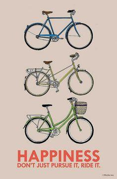 Ride to Happiness  cyclingbikemotivation Road Cycling 97561e15b