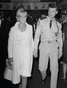 French singers Sylvie Vartan and Johnny Hallyday attend a Dalida and Claude Nougaro concert at the Olympia Hall in Paris. Johnny Haliday, Johnny Hallyday Sylvie Vartan, Eddy Mitchell, Charles Trenet, Vartan Sylvie, Jean Philippe, French Collection, David, French Actress