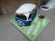 Vw camper cake, so much fun to make