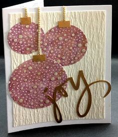 Quietfire Creations: Season's Greetings & Joy Cards