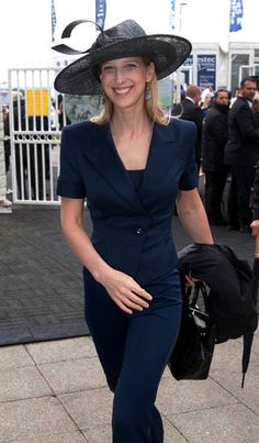 Lady Gabriella Windsor, at the Epsom Downs Racecourse on  June 7, 2014