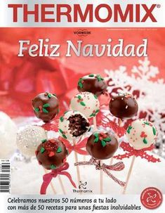 Thermomix nº Feliz Navidad Christmas Brunch, Christmas Morning, Christmas Desserts, Christmas Time, Not Too Sweet Frosting, Chocolate Whipped Cream, Thermomix Desserts, Cooking Classes For Kids, Italian Cooking