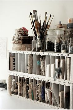 Studio storage copyright Rebecca Sower