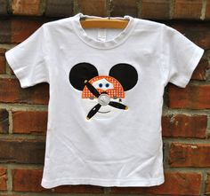 Planes Dusty Mickey Shirt for Boys.  Size by HootnHollarClothing, $31.00