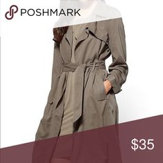 Light weight Trench Light weight Knee length Trench New York & Company Jackets & Coats Trench Coats