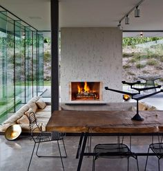 So want this living room. Sunken living room: fearon hay architects: island retreat