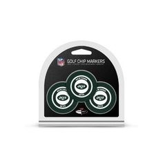 New York Jets Golf Chip with Marker 3 Pack