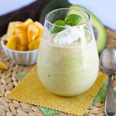 Mango-Avocado Smoothie http://www.1mrecipes.com/mango-avocado-smoothie/  Like 1 Million Recipes for more healthy smoothies.