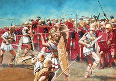 Битва при Сентино.Третья самнитская война завершившаяся победой Рима ,295 г.до н.э.