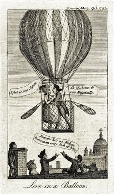 In 1793, hundreds of spectators & several founding fathers had watched the first man fly free over the new republic. Frenchman Jean-Pierre Blanchard rose in a hot air balloon over the rooftops of Philadelphia, then the nation's capital.  From that point on, regular balloon flights brought crowds of several thousand onlookers whenever take-offs were expected, and 'balloonomania' swept right across the country.