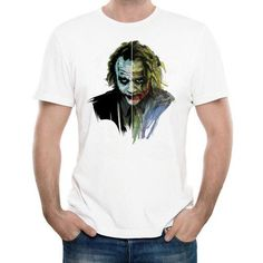 Buy Online Free Shipping - Broadcloth Character Pattern O'Neck T-Shirt For Men. #Mentshirt #ShopOnline #MehdiGinger