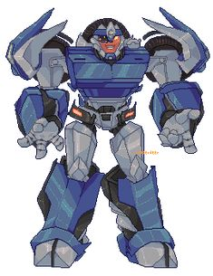 """waferdeer: """"Another request done ; for magnumformer ; Ironhide Transformers, Transformers Funny, Robot Art, Optimus Prime, Pictures To Draw, Chibi, Anime, Kawaii, Animation"""