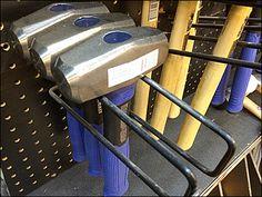 Kobalt® Hand Sledge Loop Hook – Fixtures Close Up Sledge Hammer, Metal Shelf Brackets, Hooks, Retail, Hardware, Shelves, Black, Color, Design