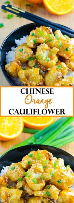 Chinese Orange Cauliflower