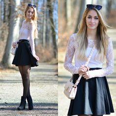 Pink lace top  - Vanessa C.