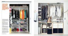 IKEA Catalog 2015: closet organization