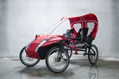 New version 2015 - www.rishock.com Soap Box Derby Cars, E Quad, 4 Wheel Bicycle, Velo Design, Tricycle Bike, Wood Bike, Electric Tricycle, Recumbent Bicycle, Solar Car