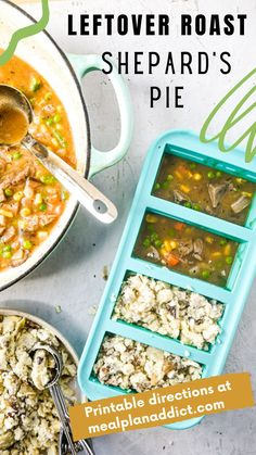 Veggie Recipes, Lunch Recipes, Beef Recipes, Dinner Recipes, Healthy Recipes, Make Ahead Casseroles, Leftover Roast Beef, Food Science, Food Waste