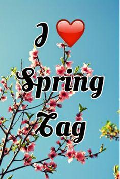 I ❤️ Spring Tag