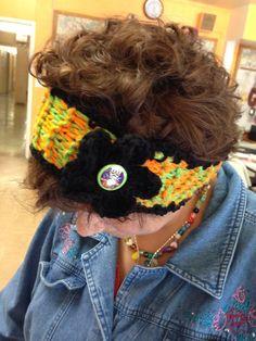 Adult/Teen Halloween Knit Headband by LFDSIStore on Etsy