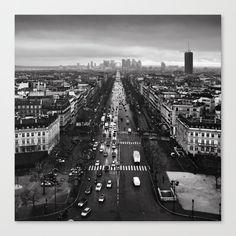 'Paris cityscape' Photographic Print by Kostas Pavlis Fine Art Prints, Canvas Prints, Photo Focus, Cityscape Art, Middle School Art, Create Image, Sell Your Art, Beautiful Images, Paris Skyline