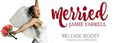 Release Boost for Merried by Jamie Farrell.   Title: Merried  Series: Misfit Brides #5  Author: Jamie Farrell  Genre: Contemporary Romance  Release Date: October 4 2016  Blurb  Hes the Spare Heir of Blisss most famous jewelry shopMax Gregorys family is best known for creating and displaying the infamous Mrs. Claus diamond ring but here in the bridal capital of the world Max is best known for having a cursed love life. Not that he believes in curses. Or he didnt until he met her. Shes the…