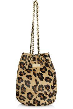cheetah bucket bag Discount Designer Clothes, Cheetah Print, Clothes For Sale, Gold Chains, Bucket Bag, Purses, Shoe Bag, Meli Melo, Handbags