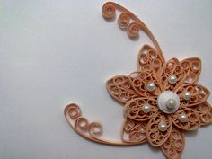 Quilling at it's best (pearls)